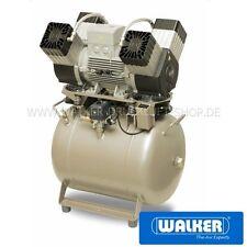 Dentalkompressor EKOM DK50 4VR/50 - Mit 50-Liter-Behälter - Ölfrei