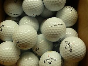 40-Callaway-Chrome-Soft-golf-balls-Grade-B-Great-value
