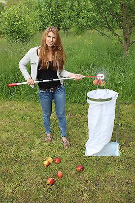 Obst-Sackhalter SACKI mit Metall-Platte - Bag Man - der perfekte Helfer