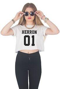 7dc1ac172d6041 Herron 01 Crop Top Shirt Fangirl Why Don t We Zach Boyband Seavey