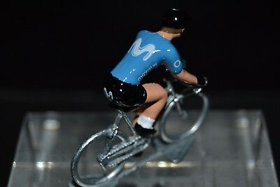 Ragionevole Movistar 2018 - Petit Cycliste Figurine - Cycling Figure