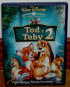 TOD-Y-TOBY-2-DISNEY-DVD-NUEVO-DESPRECINTADO-ANIMACIoN-AVENTURAS-R2