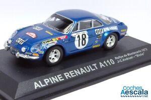 100-Sport-Altaya-Alpine-A110-Andruet-Rallye-MonteCarlo-1973-IXO-1-43
