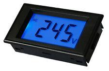 AC 80V-500V Digital Panel Voltmeter with illumination