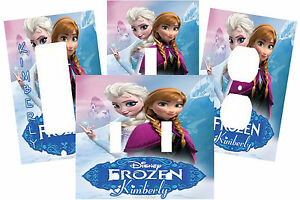 Personalized Frozen Princess Light Switch Plate Cover Ebay