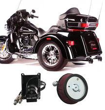 "2009-2013 Harley Trike FLH Touring 3.5"" Rinehart True Duals Complete Power Pack"