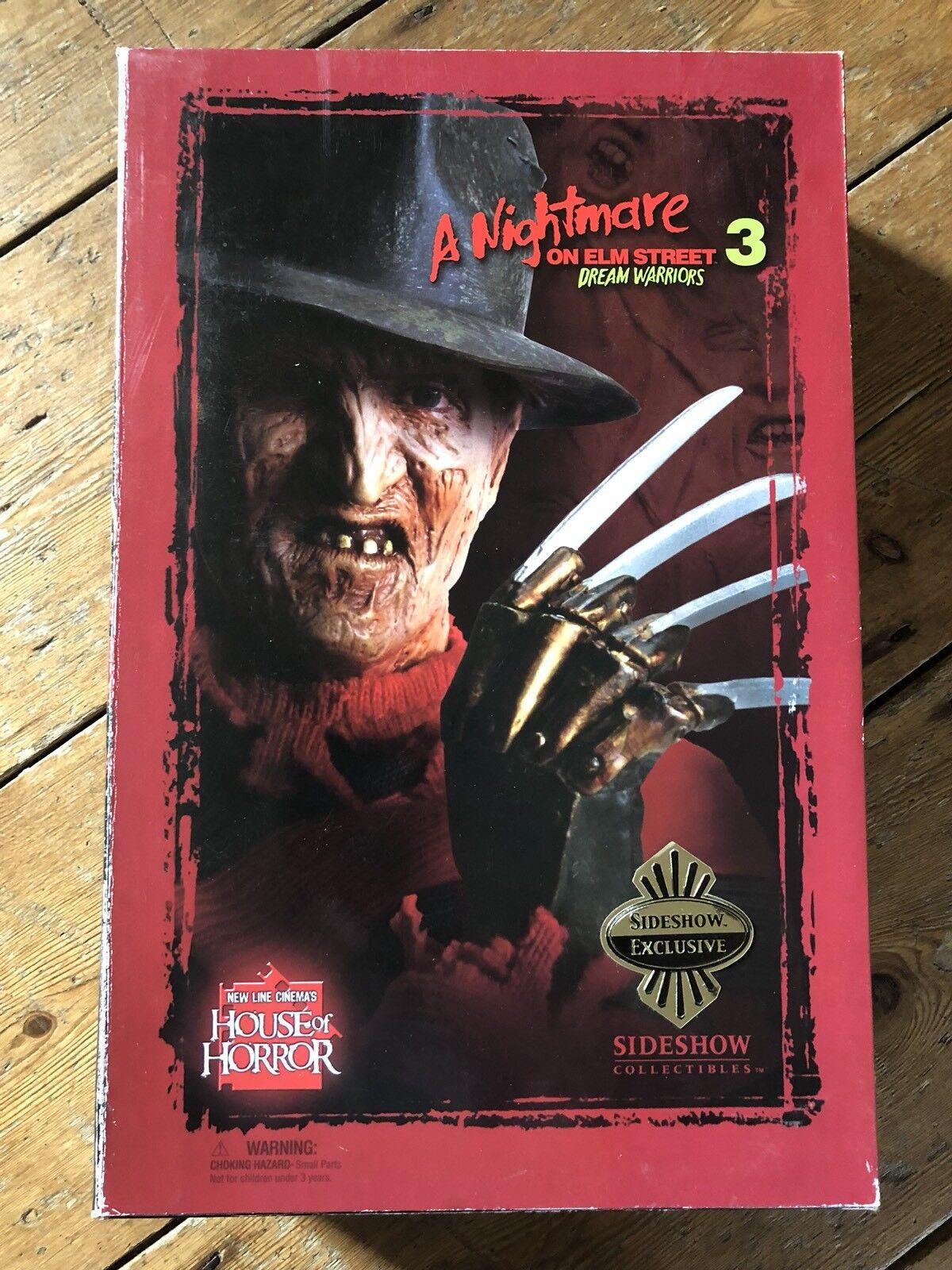 Sideshow Pesadilla en Elm Street 3 Freddy Krueger Exclusivo af SSC 181