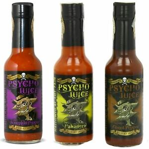 Psycho Juice Gift Set Of 3 70% Scorpion