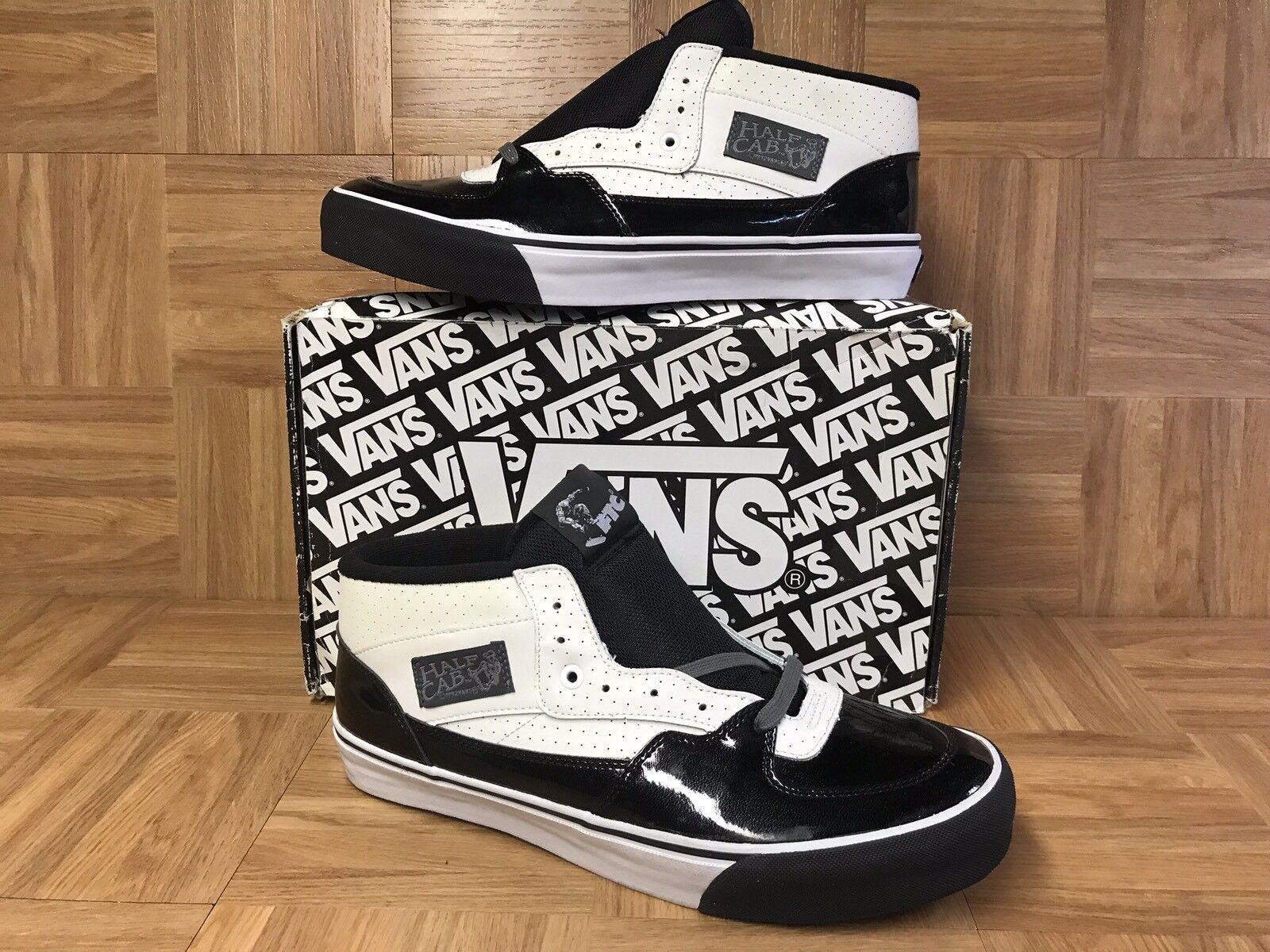 RARE🔥 VANS Half Cab Pro Patent Leather