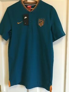 Men-s-Nike-Atletico-Madrid-Grand-Slam-Blade-Polo-Medium-AJ3300-301