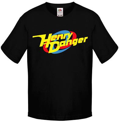 logo boys children Thundermans HENRY DANGER kids T-shirt