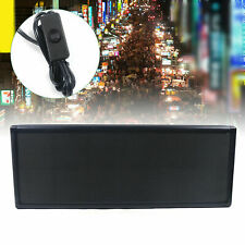 For Displaying Ads 38x 12 P5 Led Scrolling Sign Full Color Open Signs Hanging