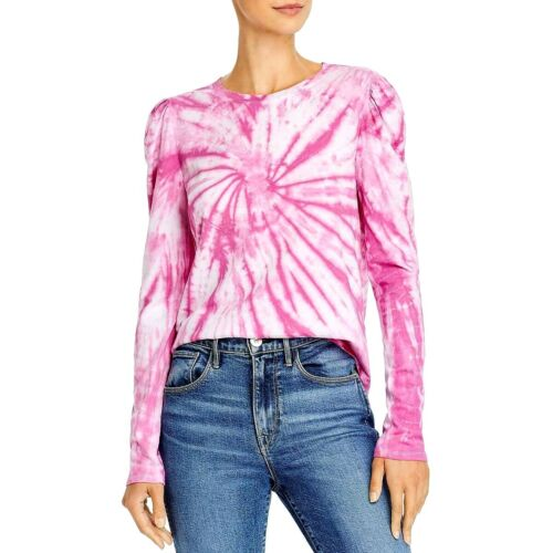 Generation Love Tracy Puff-Sleeve Tie-Dye Tee MSRP $120 Size XS,M # 5C 1684 Blm