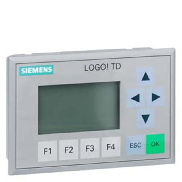 1pc Nouveau Siemens LOGO! TD 6ED1 055-4MH00-0BA0 Neuf dans sa boîte affichage de texte
