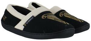 Guinness-Haylan-Uomo-IN-Pile-Caldo-Foderato-Novita-Piatto-Retro-Pantofole