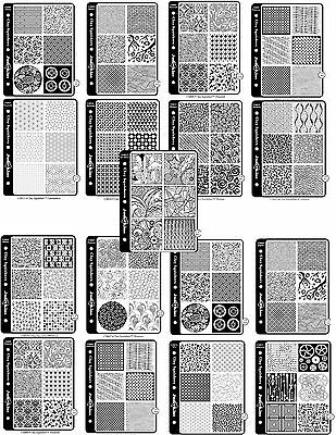 great for polymer clay Clay Squishers complete set of 17 stamps and 102 images