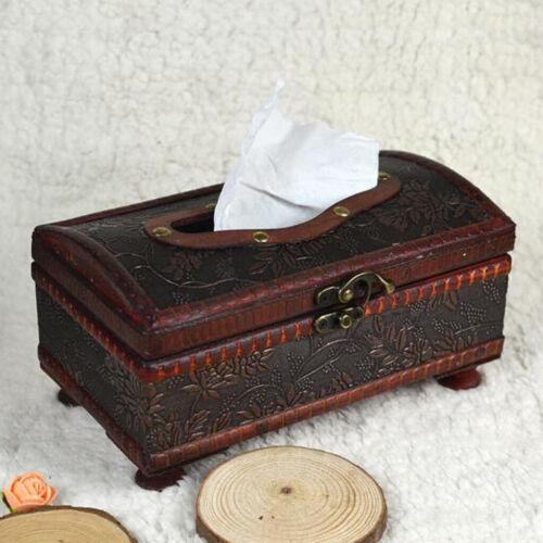 Vintage Antike Kosmetiktücherbox Kosmetikbox Taschentuchbox