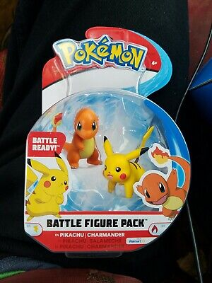RX Pokemon Pikachu /& Charmander Battle Figure Pack New in Package New Free Ship