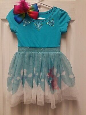 Trolls Dress and Bow  Poppy Dress FREE SHIPPING!