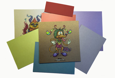 Some Birds Marq Spusta Mini Print Mystery Pack Poster Basic Single Unopened Bird