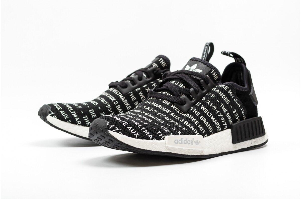 Adidas Adidas Adidas NMD R1 Blackout 3 Three Stripes Size 13. S76519 Yeezy Ultra Boost PK 12 c0c0eb