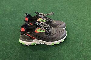 Nike React Vision WW GS Athletic CV8965-001 X Grey / Volt Sz 7Y ...