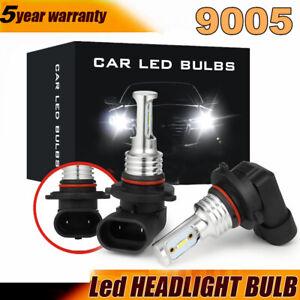9005 9145 9140 H10 6000K White LED Fog Driving Light Foglight Kit 2200W 330000LM
