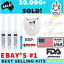 MATRIX-SUPER-WHITE-LED-TEETH-WHITENING-GEL-KIT-SYSTEM-HI-TOOTH-WHITENER-SMILE thumbnail 1