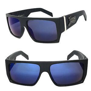 2471bd022b Mate Espejo Og Gafas LC74 de Locs Style Moto Cholo Sol Negro Auténtico Azul  xPxvYwFq