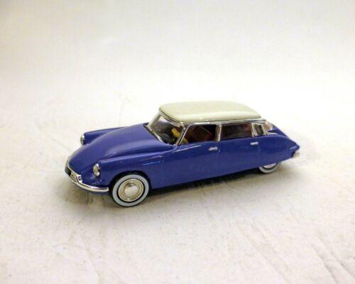 Tejado Blanco 1959 Azul 1:87 Norev Citroen DS