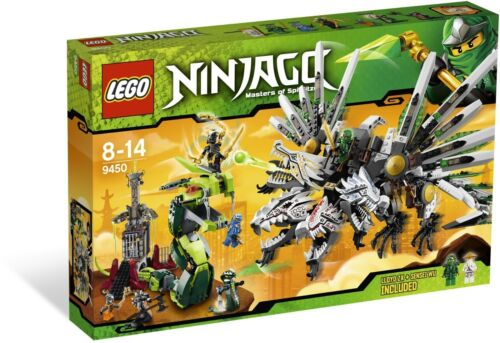 NEW SEALED LEGO 9450 NINJAGO EPIC DRAGON BATTLE SET RISE OF THE SNAKES