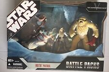 STAR WARS Battle Packs HOTH PATROL With TAUNTAUN, WAMPA And LUKE Action Figures