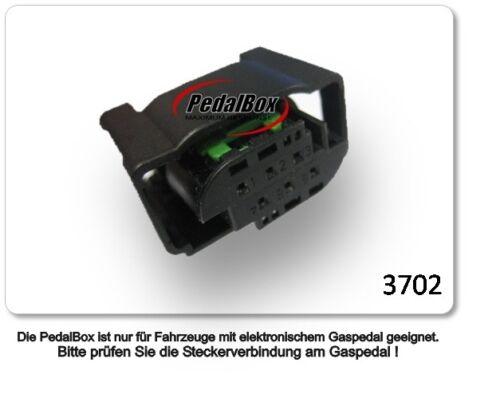 DTE Systems PedalBox 3s para bmw 5er e39 2000-2005 530 d r6 142kw acelerador chip.