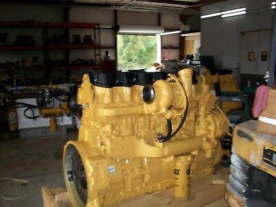 Reman Caterpillar C 15 Engines Every Part Is New 550 Hp 6NZ S N 1LW 2WS EBay