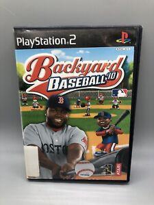 Backyard Baseball '10 Sony PlayStation 2 2009 Kids PS2 ...
