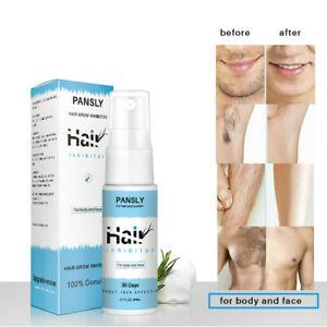 Unisex Men Women Hair Removal Spray For Face Smooth Body Leg Hair Grow Inhibitor Ebay