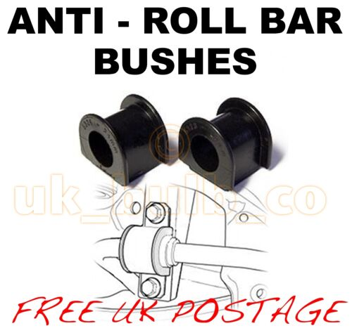 PEUGEOT 106 1991-04 21MM OUTER FRONT ARB Anti Roll Bar Sway bar BUSHES x2