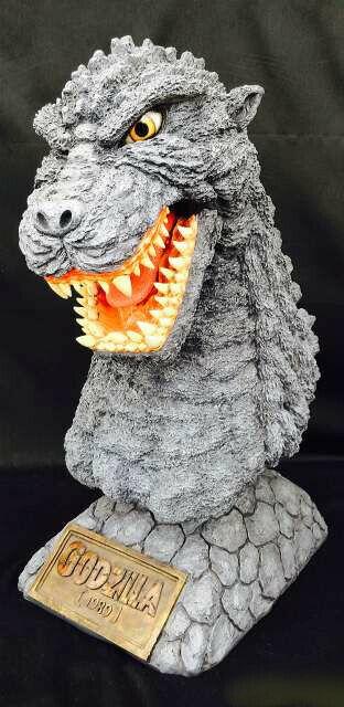 Godzilla 1989 Busto Up Estatua 60cm Tamaño  Godzilla vs Biollante  1989 de Japón