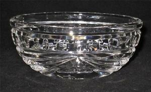 Waterford Crystal OVERTURE Open Sugar Bowl, Excellent Condition