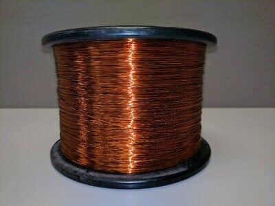 0.10mm ENAMELLED COPPER 1 METER LENGTH MAGNET WIRE