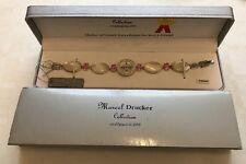 Marcel Drucker Ladies Sterling Silver - Mother Of Peal Cobachan & Pink CZ Watch