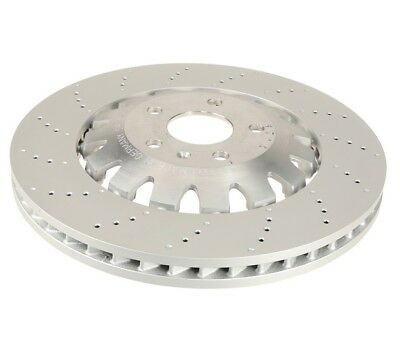 For Audi TT Quattro RS 12-13 Front Left or Right Vented Drilled Brake Rotors OEM