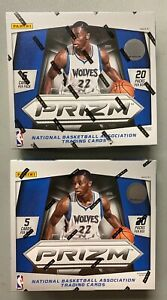 LOT (2) 2014-15 Panini Prizm Basketball Sealed Unopened Hobby Boxes Embiid RC Yr