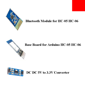 Base Board 3.3V SPP-C Bluetooth Serial Adapter Module Replace for HC-05 HC-06