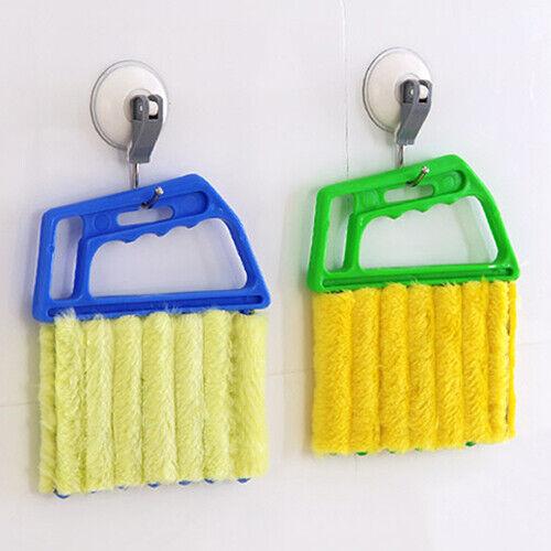 KE_ New Venetian Blind Cleaner Window Conditioner Duster Shu