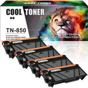4PK-for-Brother-TN850-Toner-HL-L6200DW-MFC-L5800DW-MFC-L5900DW-MFC-L5850DW