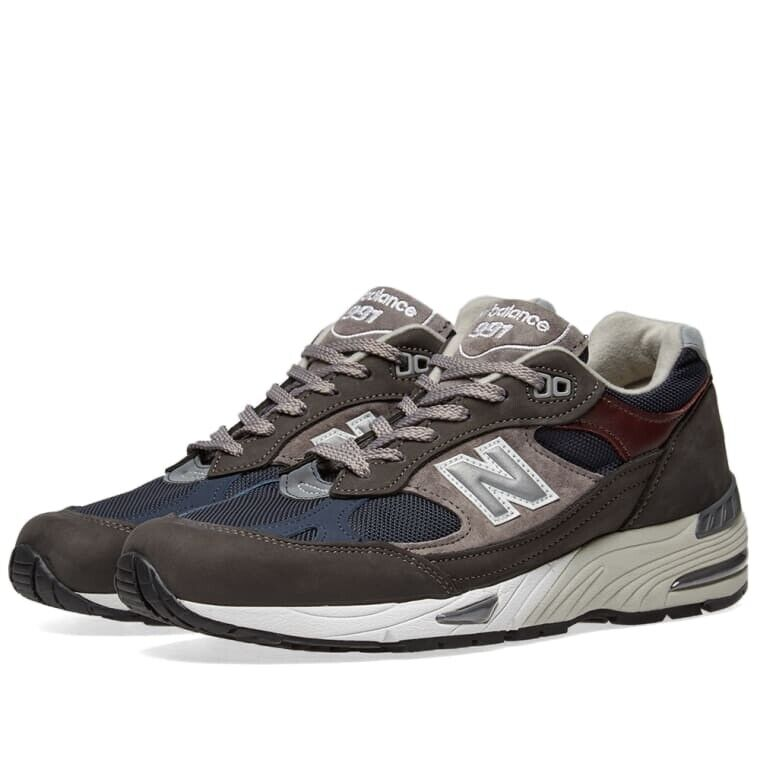 New Balance M991GNN - Made in England Grey & Navy Zapatillas