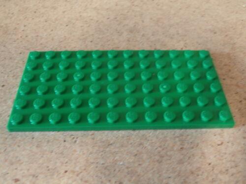 LEGO City VRAC Plaque Verte 6 x 12 Plate Green Neuf