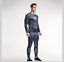 Mens-Compression-Superhero-Top-Base-Layer-Gym-Long-Sleeve-Shirt-Running-Thermal thumbnail 16
