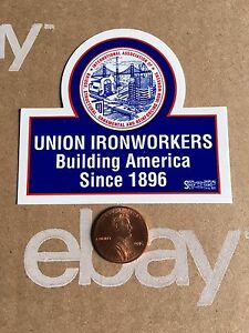 09-603 Ironworkers Round Decal